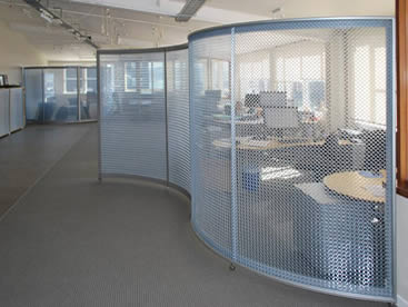 Space Divider Metal Coil Drapery And Aluminum Curtain